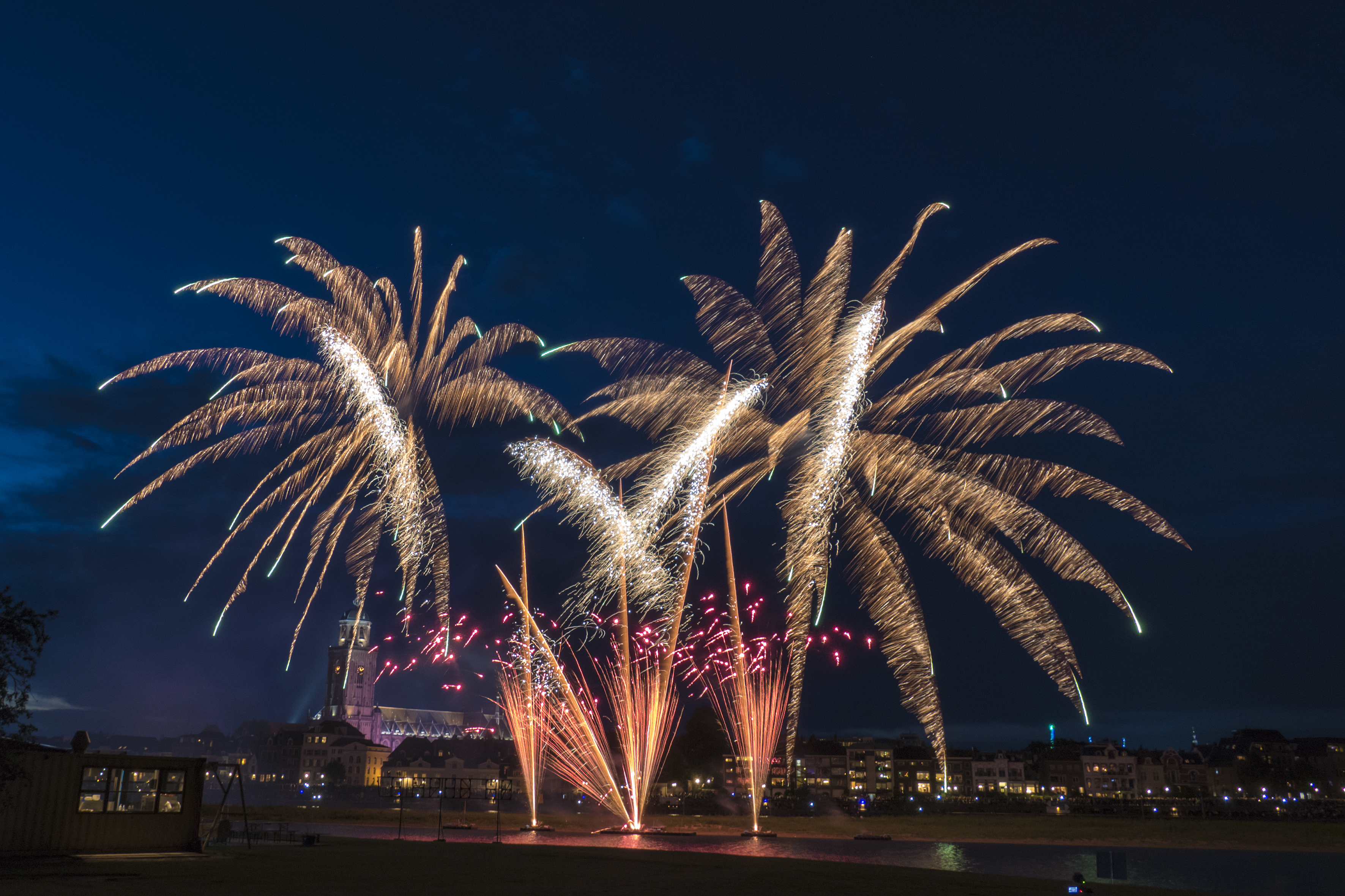 Deventer Zomerkermis , Vuurwerkshow / © AP